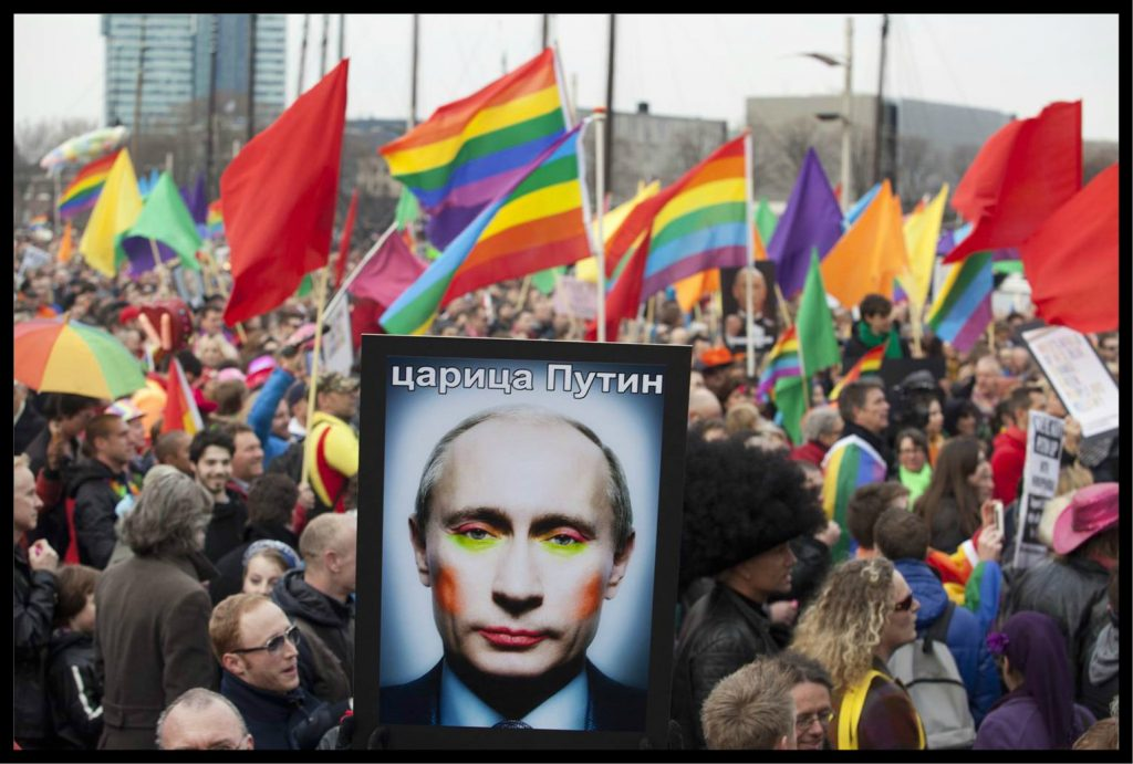He's a Real Man? Vladimir Putin as Meme